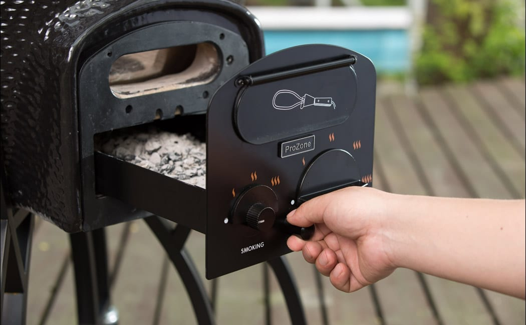 Ashtray Vision Grill Feature