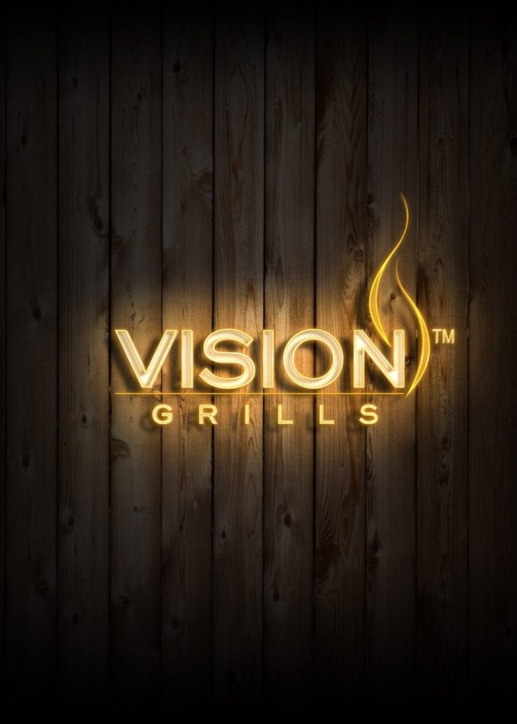 Vision Grills Neon Sign Effect