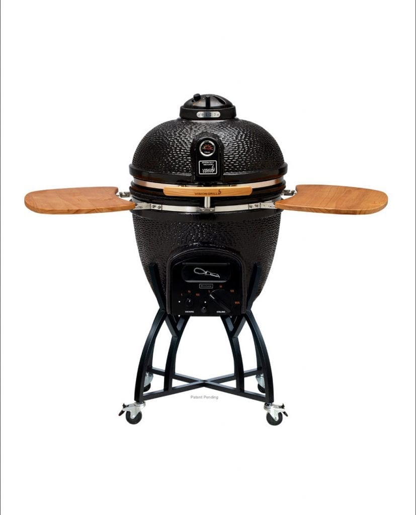 Kamado Grill, Charcoal Grills, Ceramic, Smoker | Vision Grills | {Grills 12}