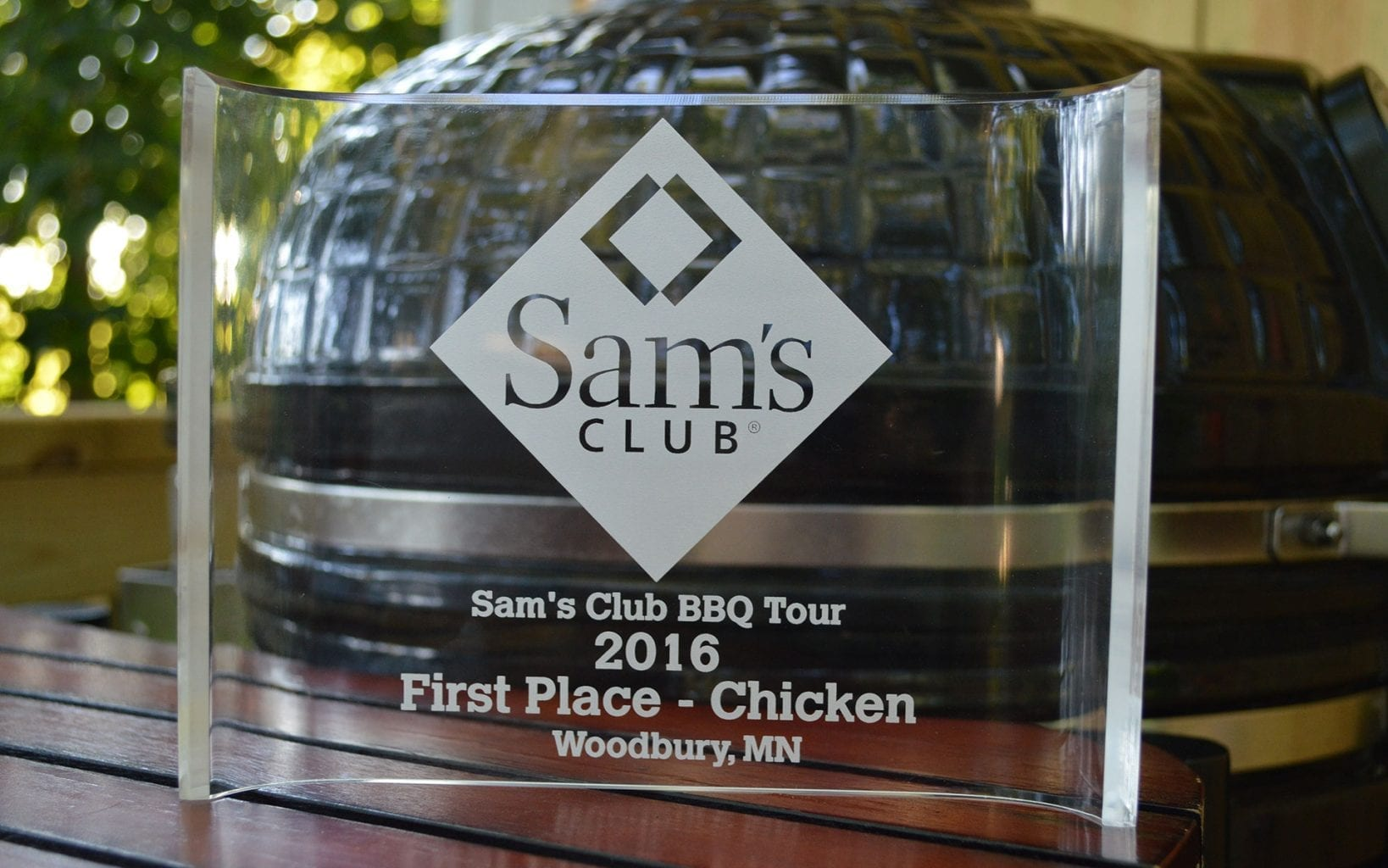1st place - Chicken - trophy